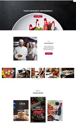 Ideas for a Restaurant Website