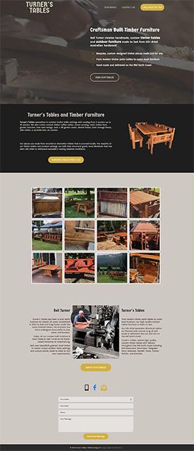 Portfolio Website Design with Pricelist